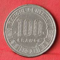 CONGO 100 FRANCS 1971 -    KM# 1 - (Nº28422) - Congo (Repubblica Democratica 1998)
