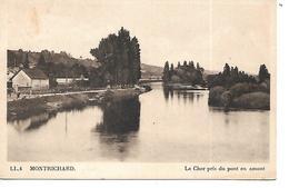 41 - MONTRICHARD - Le Cher Pris Du Pont En Amont - Montrichard