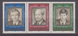 Liechtenstein 1988 Thronfolge 3v From M/s ** Mnh (42440F) - Blokken