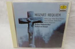 """CD """"Wolfgang Amadeus Mozart"""" Requiem D-moll KV 626, Herbert Von Karajan, Berliner Philharmoniker, Deutsche Grammophon - Classique"""