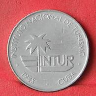 CUBA 10 CENTAVOS 1988 -    KM# 416 - (Nº28425) - Cuba