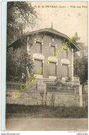 46.  P. B. G.   PAYRAC . Villa Des Pins . - Autres Communes