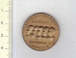 166 MEDAILLE - BISCOTTES HEUDEBERT - REG. 1831-1959 - LEOPOLD I -II -III - ALBERT - BOUDOUIN - Professionals / Firms