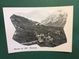 Cartolina Dossena Mt. 1000 - Panorama - 1955 - Bergamo