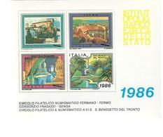 Erinnofilo San Benedetto Del Tronto 1986 Nuovo Cod.fra.1185 - 6. 1946-.. Repubblica