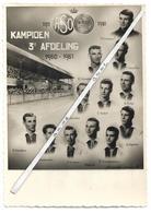 Oostende  *    A.S.O.  -  Kampioen 3° Afdeling 1960-61 (CPM) (Voetbal - Football - Fussball ) - Oostende