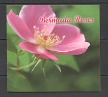 UU706 BERMUDA FLORA FLOWERS ROSES #1082-91 MICHEL 12 EURO BOOKLET MNH - Roses