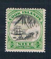 Niue 60 MNG Landing Capt Cook 1933 (N0648)+ - Niue