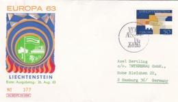 Liechtenstein 1963 FDC Europa CEPT (DD13-26) - Europa-CEPT