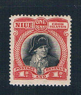 Niue 61 MNH Capt Cook 1933 (N0649)+ - Niue