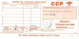 Centre Financier Nouméa - Cachet à Date 1995 Sur Imprimé Remise De Chèques - Cagou - Nouvelle-Calédonie