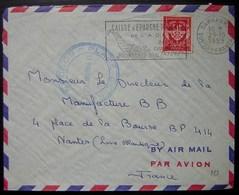 Soudan Français 1959 Bamako Place De Kati, Lettre En Franchise Militaire - Soudan (1954-...)
