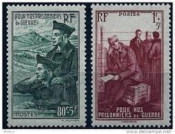 """FR YT 474 & 475 """" Au Profit Des Prisonniers De Guerre """" 1941 Neuf** - Unused Stamps"""