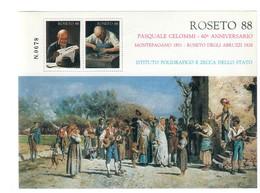 Erinnofilo Roseto 1988 Nuovo Cod.fra.1188 - 6. 1946-.. Repubblica