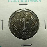 British India 1 Anna 1936 Varnished - India