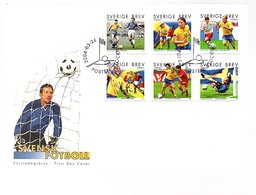 Football 2004 On Large FDC (164) - FDC
