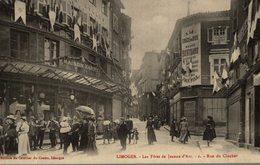 LIMOGES LES FETES DE JEANNE D'ARC RUE DU CLOCHER - Limoges