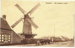 NAZARETH - De Steenen Molen - Verstuurd In 1943 - Nazareth