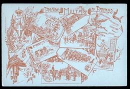PALERMO - 1903 - PRESIDIO MILITARE - Reggimenti