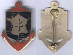 Insigne Des Forces Françaises En Extrême Orient - Heer