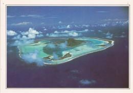 Polynesie Française Maupiti L'ile Vue D'avion (trous De Punaises) - French Polynesia