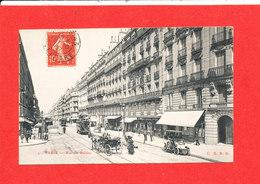 75 PARIS Cpa Animée Rue De Rennes    4 Edit G B R R - Arrondissement: 06