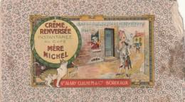 ** DEUX   Sachets Différents  Crème Renversée D'époque (vide) - Alimentation - Chromo - - Vieux Papiers