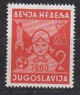 Yugoslavia 1960 Woche Des Kindes 1v ** Mnh (42444) - Liefdadigheid