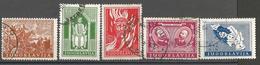 YU 1940-408-12 Post Telegraf, YUGOSLAVIA, 1 X 5v, Oo - 1931-1941 Royaume De Yougoslavie