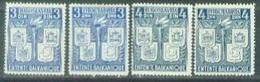 YU 1940-422-5 BALKAN, YUGOSLAVIA, 1 X 4v, MH - 1931-1941 Royaume De Yougoslavie