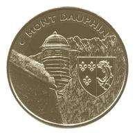 Monnaie De Paris , 2012 , Mont-Dauphin, L'échauguette Et Le Blason - Autres