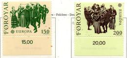 PIA  -  FAROER -  1981  :  Europa  (Yv  57-58) - Isole Faroer