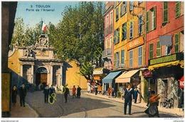 83.  TOULON .  Porte De L'Arsenal . - Toulon
