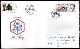 CZECHOSLOVAKIA 1984 Stamp Day  FDC.  Michel 2796 - FDC