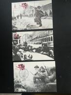 05 Cartes 40eme Anniversaire Du Débarquement - Stamps