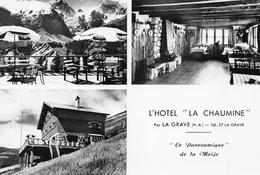 La GRAVE - L'Hôtel La Chaumine - Le Panoramique De La Meije - Gap