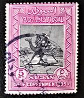MEHARISTE-POSTIER 1954 - OBLITERE - YT 115 - Soudan (1954-...)