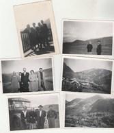Lot De 6 Photos Format 8,5 X 6 Cm ANDORRE De 1950 - Lieux