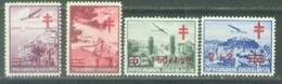 YU 1940-429-32 T B C, YUGOSLAVIA, 1 X 4v, * - Unused Stamps