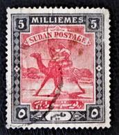 INSCRIPTIONS ARABES MODIFIEES 1948 - OBLITERE - YT 81 - Soudan (1954-...)