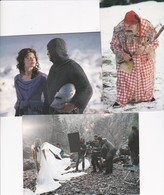 "Lot 3 Cpm 10X15 . Film ""AMAMI "" De Gulielmo Zanette Avec Sebastiano Liso Et Barbara Varischio (année 2000) - Cinema"