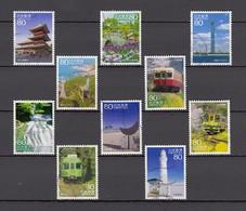 Japan 2013 - Travel Scenes Series 18, Michelnr. 6423-32 - 1989-... Keizer Akihito (Heisei-tijdperk)