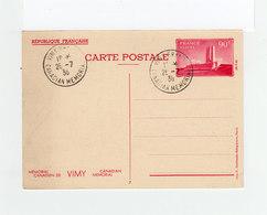 Deux Cartes Mémorial De Vimy N° 7 Et 9  CAD Vimy France Canadian Memorial 1936. (2168x)2168 - Postal Stamped Stationery