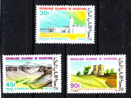 Mauritania  - 1968. Moschea Nouakchott, Amojar Pass,  Cavaliers Tours. Complete MNH Series - Geografia