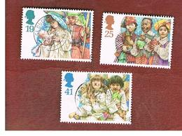 GRAN BRETAGNA.GREAT BRITAIN -  SG 1843.1847 -  1994   CHRISTMAS  - USATI - 1952-.... (Elizabeth II)