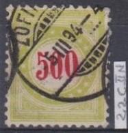 SUISSE   'TAXE' :   Le ZNr. 22CIIR, Oblitéré - Variétés