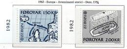 PIA  -  FAROER  -- 1982  :  Europa  (Yv 64-65) - Isole Faroer