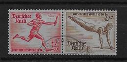 Combinación De Reich Nº Michel W-109 O - Zusammendrucke