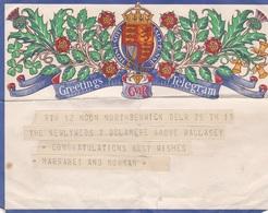 TELEGRAMS>WARTIME - 1902-1951 (Kings)