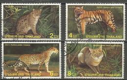 Thailand - 1998 Cats Used   SG 2027-30 - Thaïlande